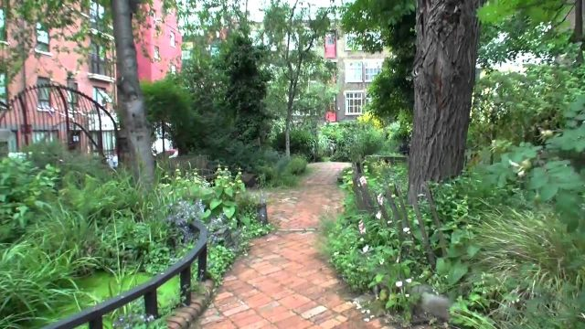 Phoenix gardens ambience tue 12 june 2012 George Godley London U.K 00071.mp4