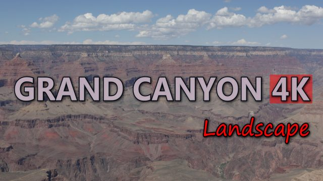 Ultra HD 4K Grand Canyon Travel Arizona Tourism USA Tourist Attraction Landscape Video Stock Footage
