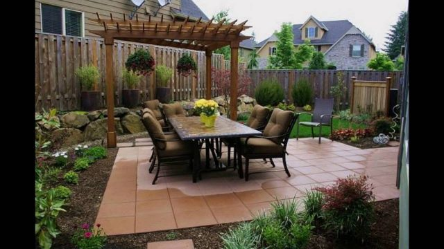 Backyard Garden Ideas Photos | Backyard Landscaping Ideas Pictures Arizona