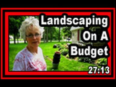 Landscaping On A Budget – Wisconsin Garden Video Blog 411