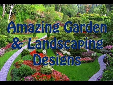 Amazing Garden & Landscaping Designs