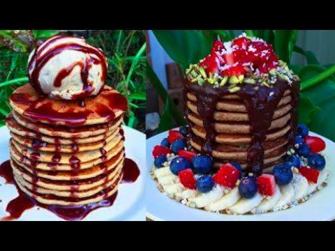 Low fat Vegan Pancakes that don't suck! 3 ingredients only.