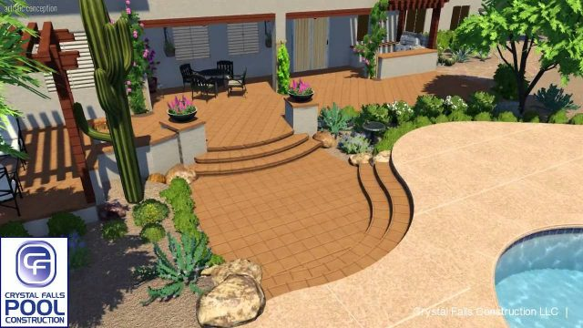 Desert Oasis Backyard & Pool Remodel