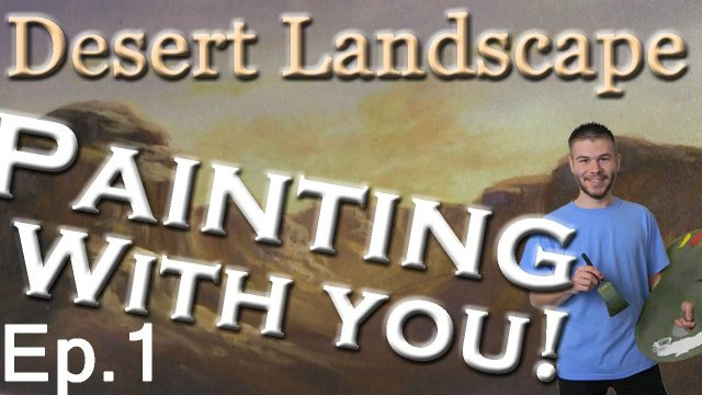 Painting With You – Desert | Ep.1 | Starting A New Desert Painting | Watch, Vote, Create