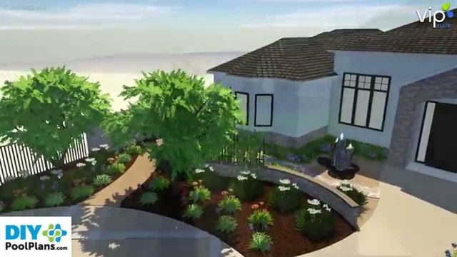 Front and Backyard Design with Drought Tolerant Landscaping