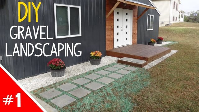 DIY Clean 'n Simple Gravel Landscaping – Part 1 of 2