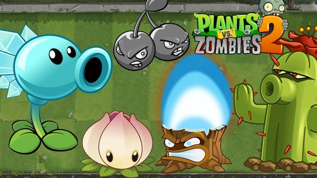 Plants vs Zombies 2 Try a Premium Plant for free(Cactus, Snow Pea,Power Lily,Torchwood,Cherry Bomb)