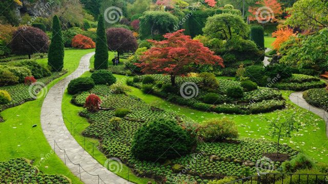 Garden Landscaping Ideas For Large Gardens # Garden Landscaping
