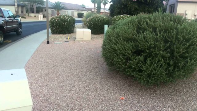 Landscape Irrigation Installation in Surprise AZ