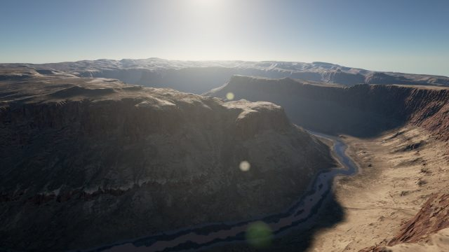 Photorealistic Landscapes Pack – 3 (Canyon/Desert/Afghan Mountains) (UE4)