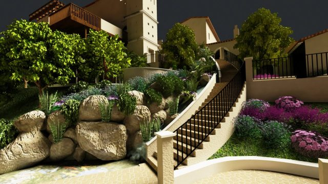 Landscape Designs with Drought Tolerant Yard Beautiful and Relaxing