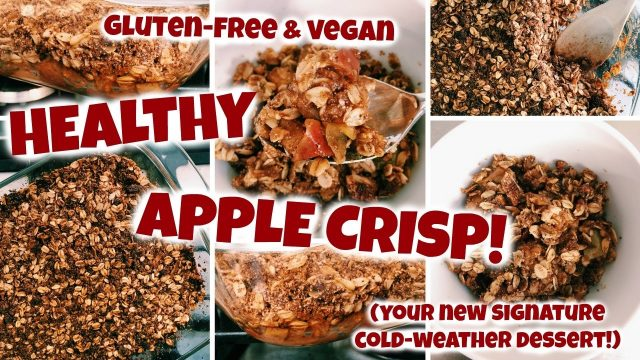 Healthy Apple Crisp: Your New GO-TO Healthy Fall Dessert!