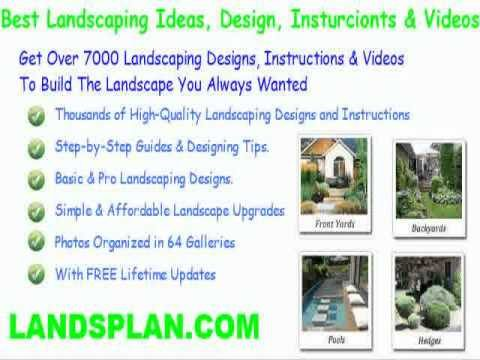 backyard landscaping ideas pictures desert