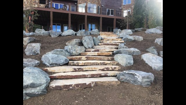 Xeriscaping, Custom Walls, Staircases and Patios – Colorado Nature Design