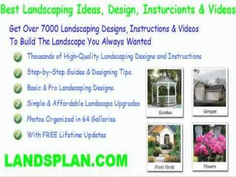 desert front yard landscape designs