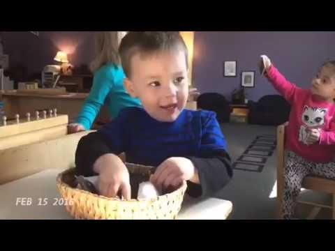 Montessori Children's Garden February Moments