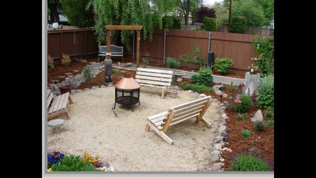 low budget yard and patio