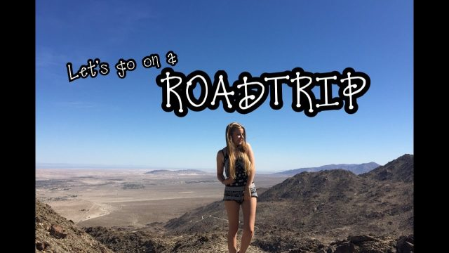 CALIFORNIA + ARIZONA Desert Roadtrip I JoelinasAuPairLife
