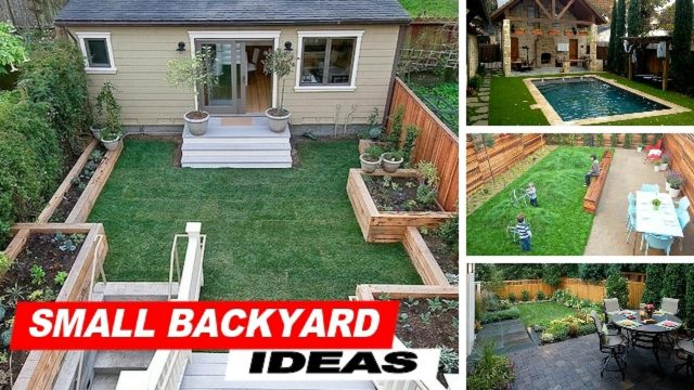 Wow !!! Small Backyard Ideas With Grass