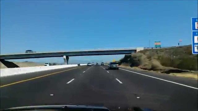 Drive-lapse USA , Arizona Phoenix to Flagstaff I-17 HD