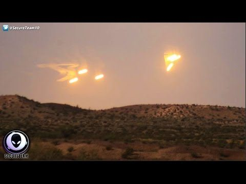 MEDIA COVERUP: Mass UFO Sighting Over Arizona Desert! 4/15/17