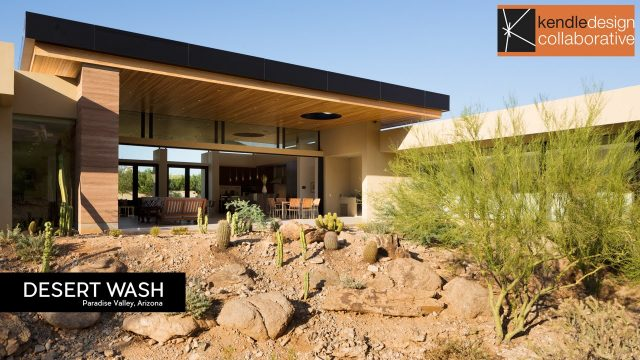 Architecture Spotlight #77 | Desert Wash by Kendle Design Collaborative | Paradise Valley, Arizona