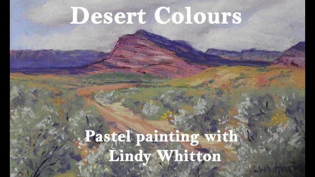 Pastel painting course- paint a desert landscape