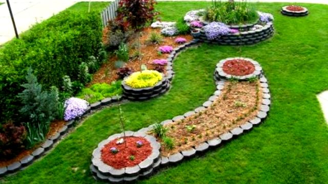 95 Garden and Flower Design Ideas 2017 – Amazing landscape house decoration Part.3