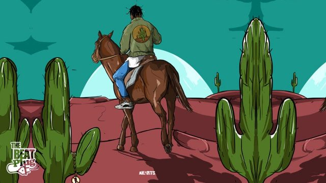 "Travis Scott Type Beat 2017 x Quavo Type Beat ""Cactus Jack"" 