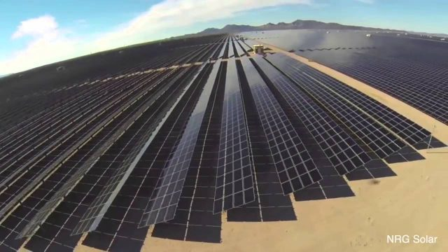 World's Largest Photo voltaic Solar Power Plant in Arizona