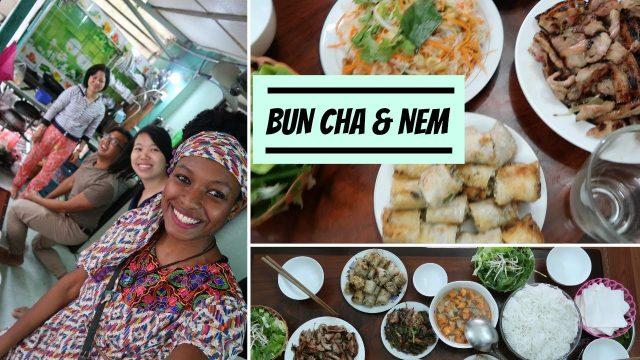 Homemade Vietnamese Cooking | Bun Cha & Nem | charlycheer