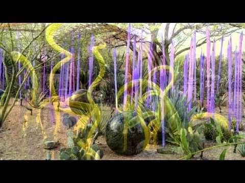 Chihuly in Desert Botanical Garden