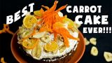 VEGAN CARROT CAKE | DESSERT RECIPE