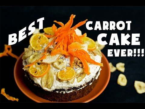 VEGAN CARROT CAKE | DESSERT RECIPE