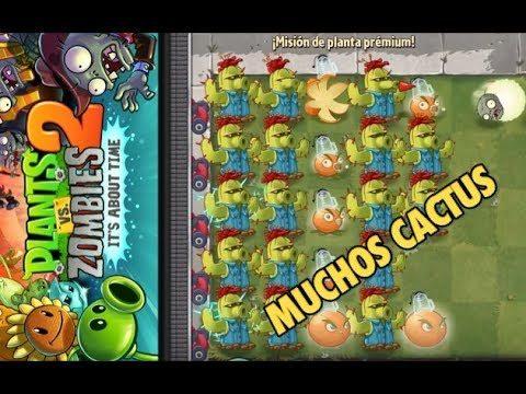 ¡MUCHOS CACTUS! – Plants vs Zombies 2 – Español
