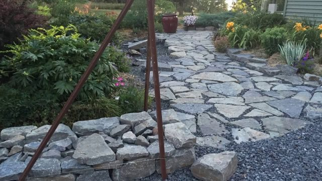 My Garden Landscaping Project with Stone