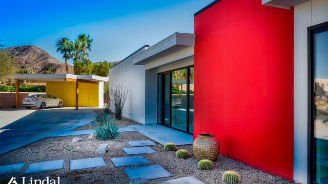 A Desert Modern Lindal in Palm Springs