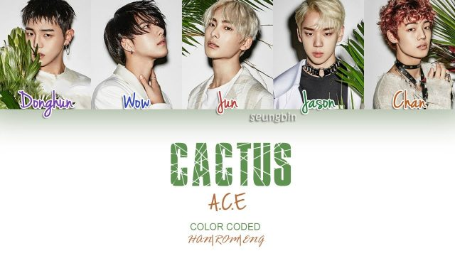 A.C.E (에이스) – CACTUS (선인장) (Color Coded Han|Rom|Eng Lyrics) | by Seungbin
