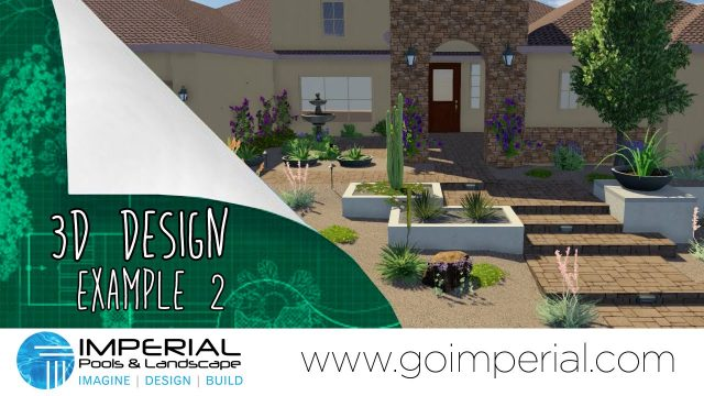 Arizona Landscape Design Example 2