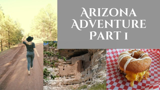 Adventure in Arizona! Travel Vlog PART1