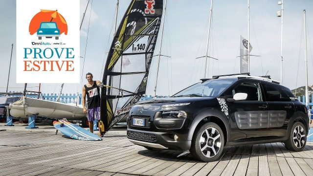 Citroen C4 Cactus, a prova d'estate… in wind surf
