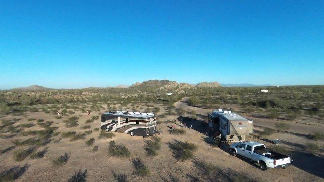 wild camping – arizona desert
