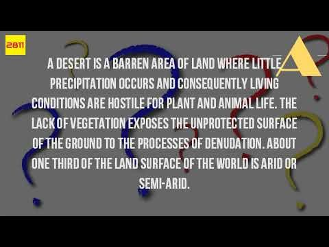 What Is A Desert Landscape?