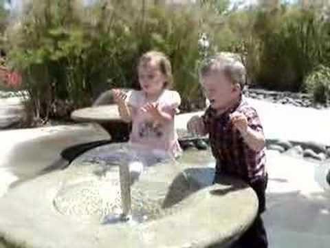 Water Play at the Children's Garden