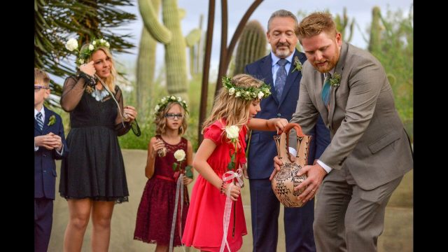Arizona – Desert Botanical Garden Fall Wedding