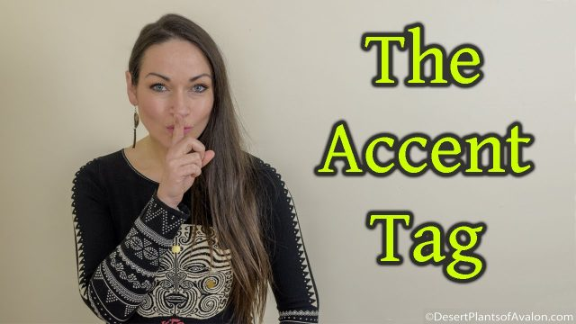 The Accent Tag :-)