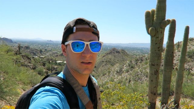 HIKING IN THE DESERT – (Quartz Ridge, Phoenix, AZ)