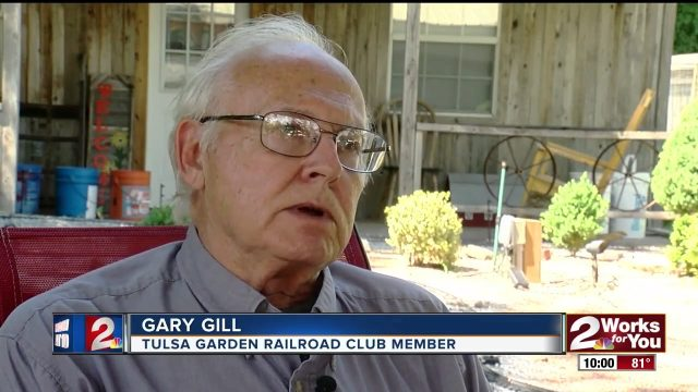 Tulsa Garden Railroad Club has equipment trailer stolen