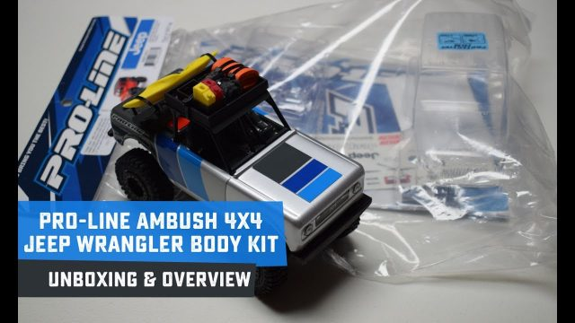 Pro-Line Ambush 4×4 Jeep Wrangler Body Kit Overview