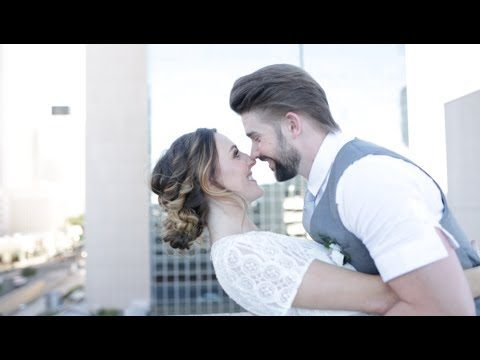 Beautiful Downtown Phoenix Wedding Shoot